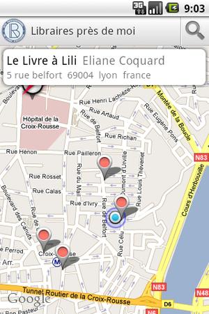 Android Application third screenshot