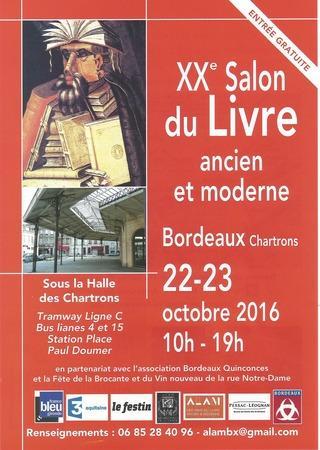 Salon du Livre Bordeaux-Chartrons 2016