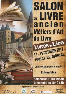 Salon du livre de Paray-le-Monial