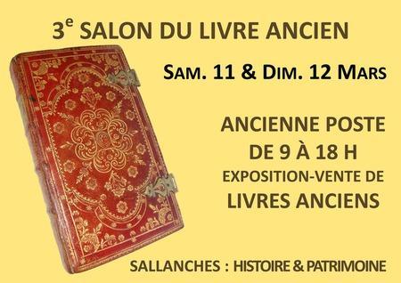 Salon du livre ancien de Sallanches