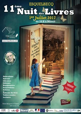 Nuit des Livres 2017