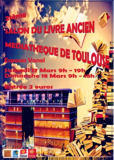 Salon du livre toulouse livre rare book - Salon du modelisme toulouse ...