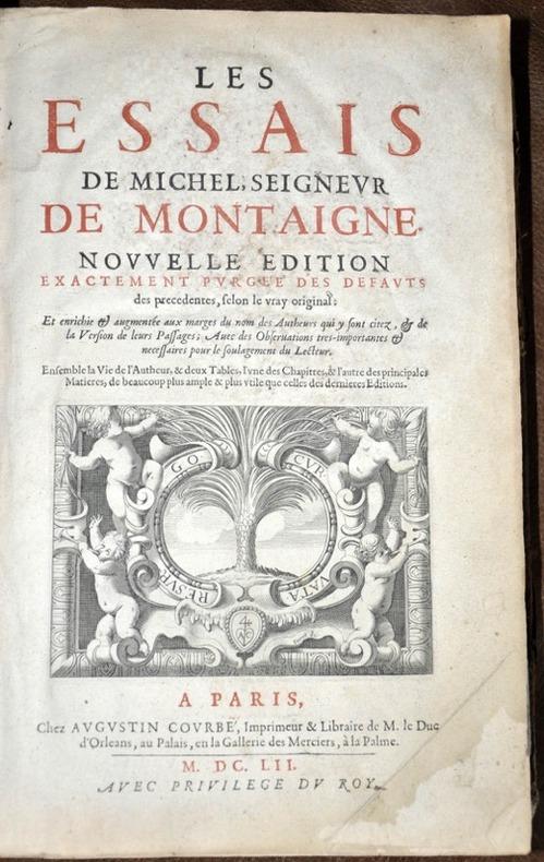 Montaigne Michel De Marelibri