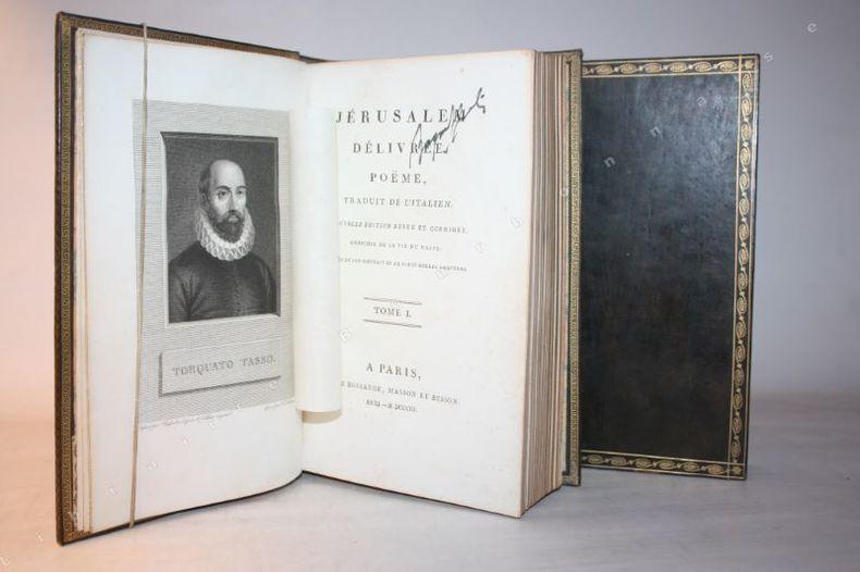 Le Tasse Torquato Tasso Dit Livre Rare Book