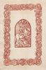 Paire d'estampes sur satin pour le gardes de Hamlet, de William Shakespeare, illustrations de Georges Bruyer. . Bruyer, Georges - [Shakespeare, ...