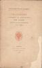 Collection Poulet-Masassis. Bibliographie raisonnée et anecdotique des livres édités par Auguste Poulet-Malassis (1853-1862). [Contades, Gérard de ...