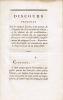 Discours prononcé par le citoyen Louet, à la section de l'Egalité de la commune de Dijon, à la séance du 26 vendémiaire, an III [suivi de] Discours ...