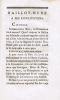 Baillot-Mure à ses concitoyens - [suivi de :] n° II de Baillot-Mure - [suivi de :] Opinion de Pierre Baillot, dans l'Assemblée des sections de ...