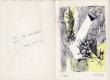 Michael Argov : carte de voeux pour 1958 et lithographie originale. Argov, Michael