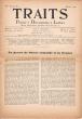 Traits. Poésie, Documents, Lettres. Revue indépendante paraissant douze fois par ans. IVe année, n° 2, février 1944.. [Revue - Résistance] - [Seghers, ...