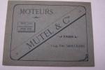 Moteurs MUTEL, 124 rue Saint-Charles, Paris..