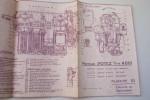 Notice technique provisoire moteur d'Aviation POTEZ Type 4 D 01..