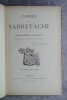 CARNET DE LA SABRETACHE. REVUE MILITAIRE RETROSPECTIVE PUBLIEE PAR LA SOCIETE «LA SABRETACHE». HUITIEME VOLUME – 1900. .