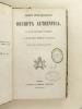 Sacrorum Rituum Congregationis Decreta Authentica, quae ab Anno 1588 Ad annum 1848 prodierunt.. Collectif