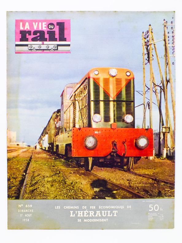 la vie du rail N°397 LE LISIEUX FLOTTE SNCF 1953