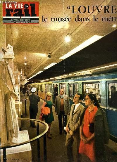 la vie du rail N°1167 louvre le musée dans le métro   1968
