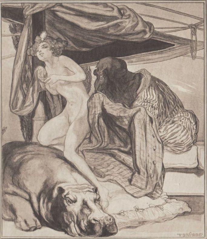 Livre mammouth de femmes érotiques illustrées
