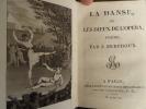 La danse ou les dieux de l'opéra, poëme.. Berchoux, J.