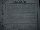SOMMAIRE ( voir images). HERALDIQUE et GENEALOGIE