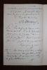 Lettre autographe signée à Octave Uzanne. [Octave Uzanne, destinataire] Armand d'Artois (1847-1912), écrivain