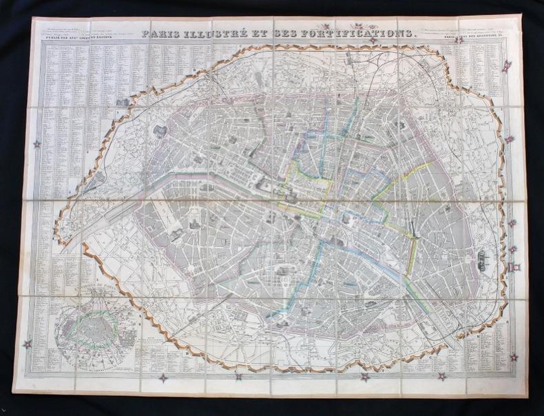 Paris illustré et ses fortifications.
