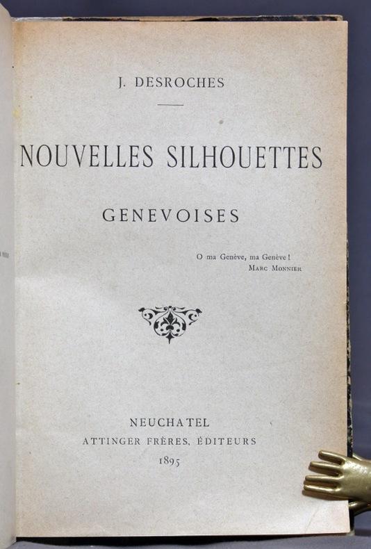Nouvelles silhouettes genevoises.