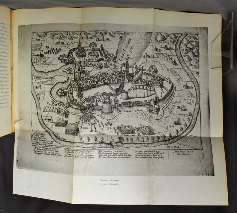 Histoire de Genève à l'époque de l'Escalade. 1597-1603.