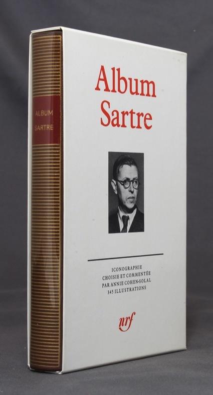 Album Jean-Paul Sartre. Iconographie choisie et commentée par Annie Cohen-Solal.