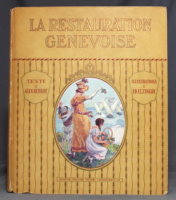 La Restauration genevoise. Du traité de Saint-Julien à la Restauration 1603-1816.