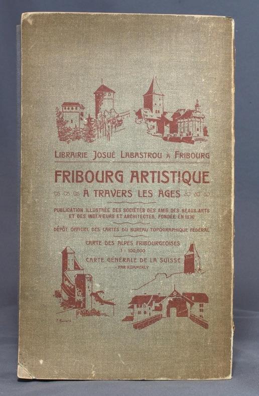 Plan de la ville de Fribourg et des environs.