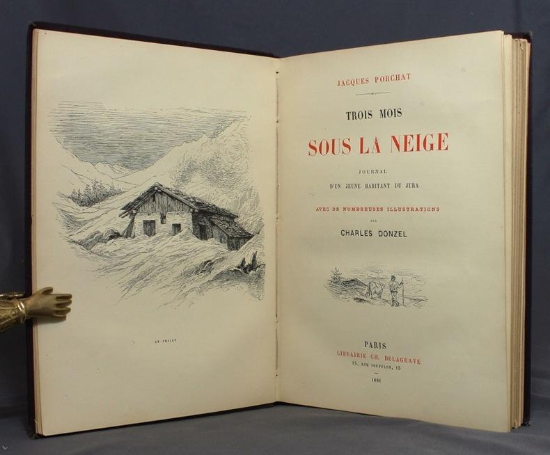 Trois mois sous la neige. Journal d'un jeune habitant du Jura.