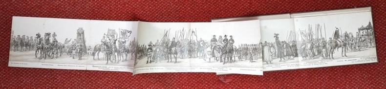 Gründungsfeier der Stadt Bern 1191-1891. Offizielles Festalbum des historischen Zuges mit Programm, 14-17 August 1891.