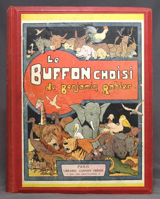 Le Buffon choisi de Benjamin Rabier.