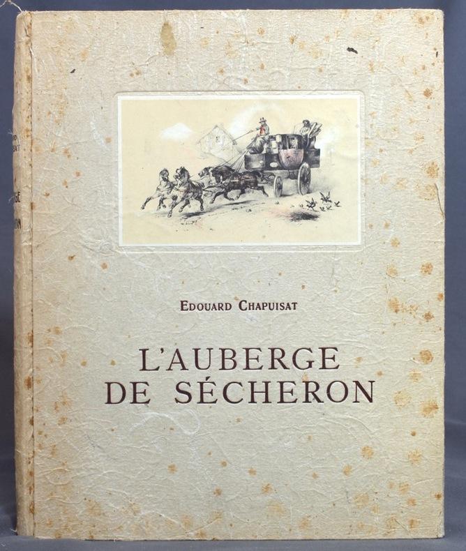 L'auberge de Sécheron au temps des princesses et des berlines.