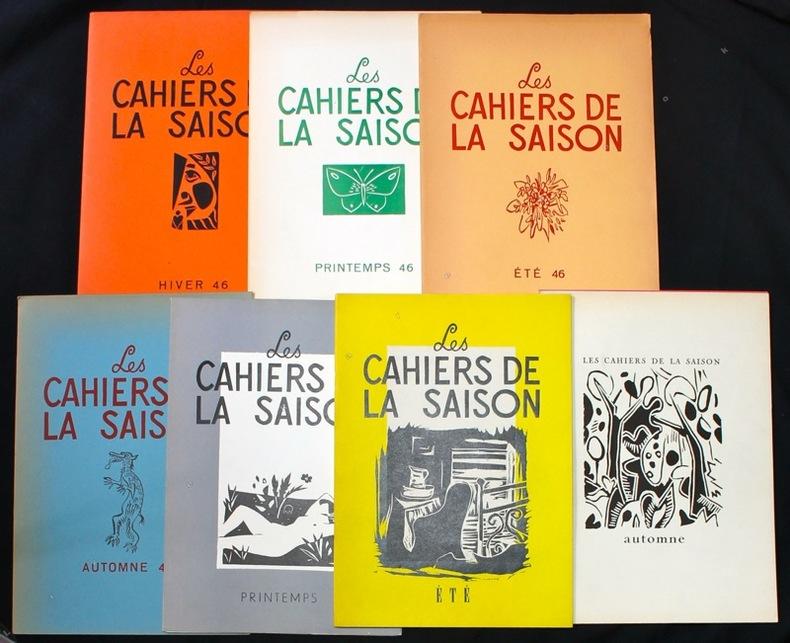 Les Cahiers de la saison (1946-1947).