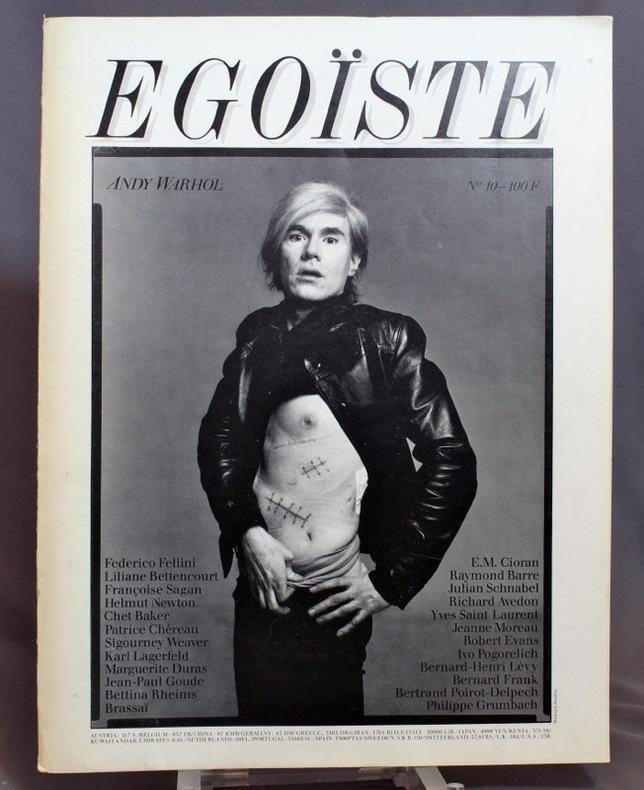 Egoïste n° 10 - Andy Warhol.