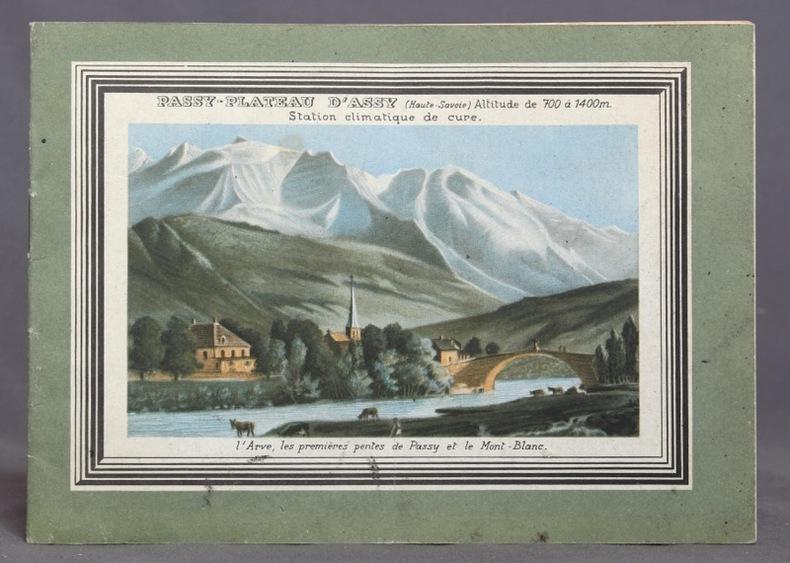 Plateau d'Assy (Haute-Savoie). Station climatique de cure.