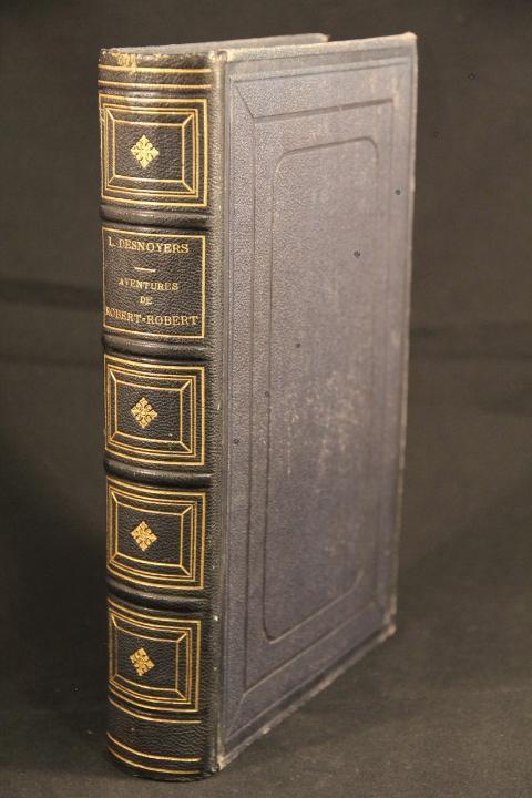 Aventures de Robert-Robert et de son fidèle compagnon Toussaint Lavenette.