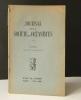 MYTHES ET RECITS MAREENS suivis de SENS ET ROLE DU MYTHE EN ETHNOLOGIE... [OCEANIE]  DUBOIS (R. P.) et  POIRIER (Jean). Journal des Océanistes n° 4, ...