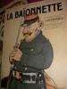 LA BAIONNETTE N°30(27 JANVIER 1916)- NUMERO SPECIAL: LES PEPERES. DE PAWLOWSKI G.-[HUARD. CH.GENTY-G.DELAW-SAPY-VILLEMOT-RICARDO FLORES]