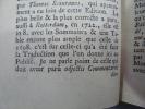 Zodiacus Vitae, Zodiaque de la vie Edition de référence reliée en maroquin rouge d'époque. Très bel exemplaire .. Palingenii Marcelli Palingene Marcel ...