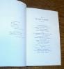 In Morte di Carlotta Melania. Versi e Prose. ALFIERI (Vittorio)