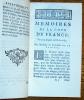 Mémoires de la Cour de France, Pour les Années 1688. & 1689. LA FAYETTE (Madame la Comtesse de)