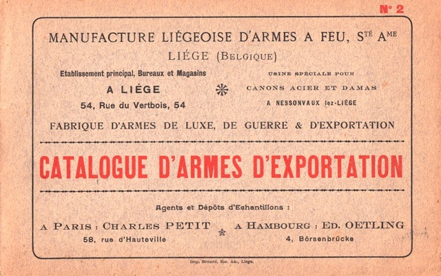 MANUFACTURE LIEGEOISE D'ARMES A FEU  -     - Livre Rare Book