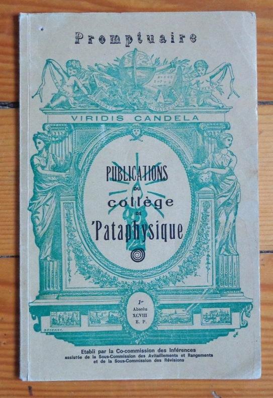 Pataphysics - marelibri