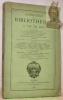 CATALOGUE de la Bibliothèque de M. Van der Helle.Riches reliures ; beaux manuscrits avec miniatures ; livres d'heures imprimés avec figures sur bois ; ...