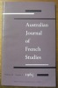 Australian Journal of French Studies. Volume II, Number 1..