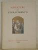 Miniature del rinascimento. Quinto centenario della Biblioteca Vaticana. Catalogo della mostra con 2 riproduzioni a colori e 31 in nero..
