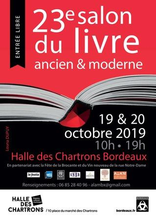 23e Salon du Livre ancien et moderne de Bordeaux