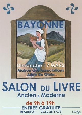 salon du livre de Bayonne